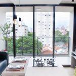 Ambiente funcional e descolado é tendência para apartamento de 40 m²